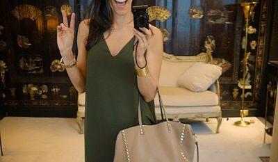 Luke Donald's wife, Diane. (Diane Donald's Instagram account.)