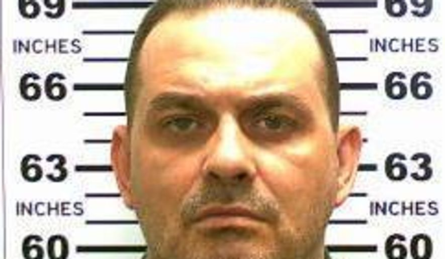 This May 20, 2015, file photo released by the New York State Police shows Richard Matt. Matt and accomplice David Sweat escaped from the Clinton Correctional Facility in Dannemora, N.Y. on June 6, 2015, and are still at large. Matt is among more than 160 state prison escapees nationwide who are listed as on the loose, The Associated Press found in a coast-to-coast survey. (New York State Police via AP)