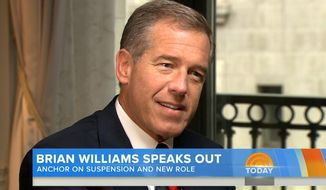 "In his first interview since his suspension in February, NBC's Brian Williams admitted that his desire to embellish stories was ""clearly ego driven."" (TODAY)"