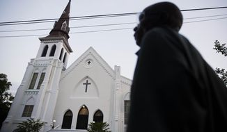 At least five Democratic presidential candidates have made the pilgrimage to Emanuel African Methodist Episcopal Church in Charleston, South Carolina. (Associated Press/File)