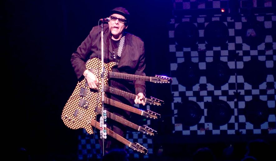 Guitarist Rick Nielsen and his band Cheap Trick will return to Wolf Trap on Thursday night with Peter Frampton. (Wolf Trap)