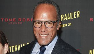 "In this Oct. 27, 2014, file photo, Lester Holt attends the New York premiere of ""Nightcrawler"" in New York. The new NBC ""Nightly News"" anchor Holt, who replaces Brian Williams, moves into the job officially on Monday, June 22, 2015. (Photo by Andy Kropa/Invision/AP, File)"