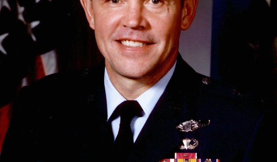 FILE - This photo provided by the U.S. Air Force shows Brig. Gen. Terryl J. Schwalier in an undated handout photo. The Supreme Court said Monday, June 22, 2015, it won't hear an appeal from the retired Air Force general who claims he was illegally denied a promotion after the Defense Department said he failed to adequately protect against a terrorist strike. (U.S. Air Force via AP)