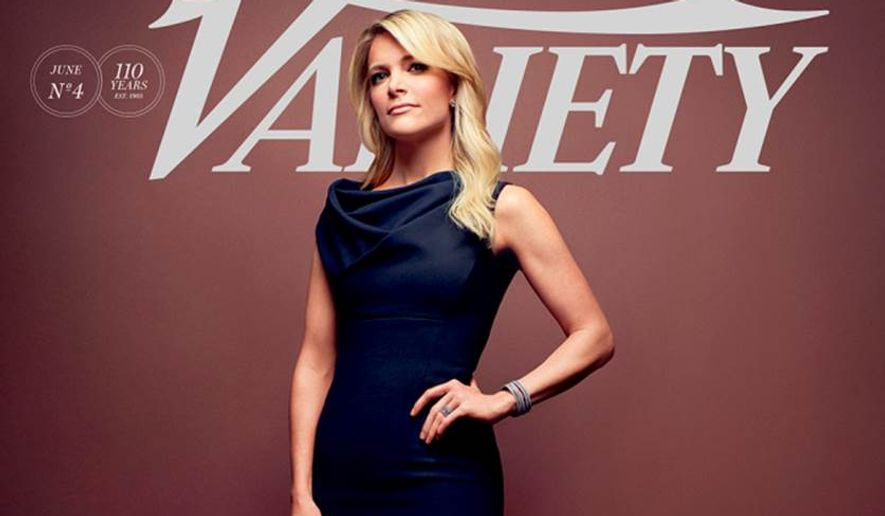 Megyn Kelly on the cover of Variety. (Image courtesy of (Fox News)