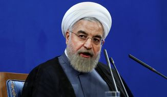 "Iranian President Hassan Rouhani said this month that a final nuclear deal is ""within reach"" as the Islamic republic and world powers face a June 30 deadline for an agreement, but he added that Iran won't allow its state ""secrets"" to be jeopardized. (Associated Press)"