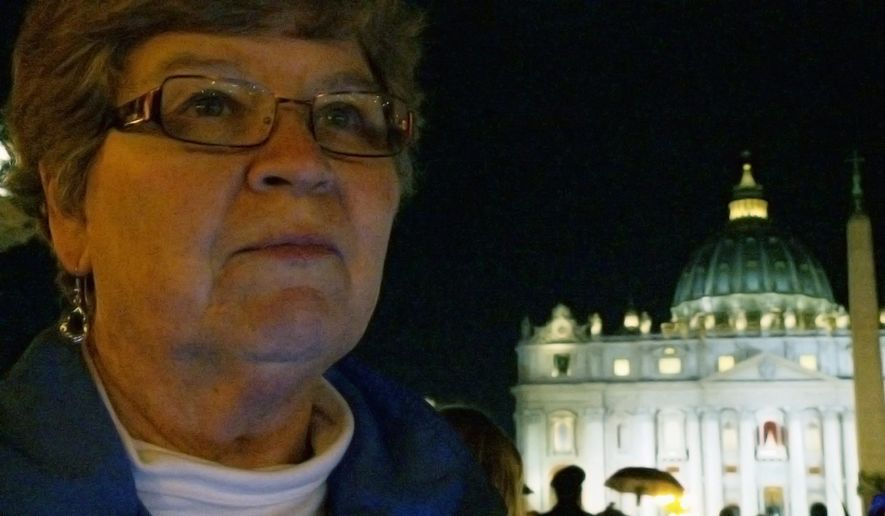 "Sister Chris Schenk is one of three nuns chronicled in ""Radical Grace,"" a documentary on their work challenging the power structures of the Catholic Church. (www.radicalgracefilm.com)"