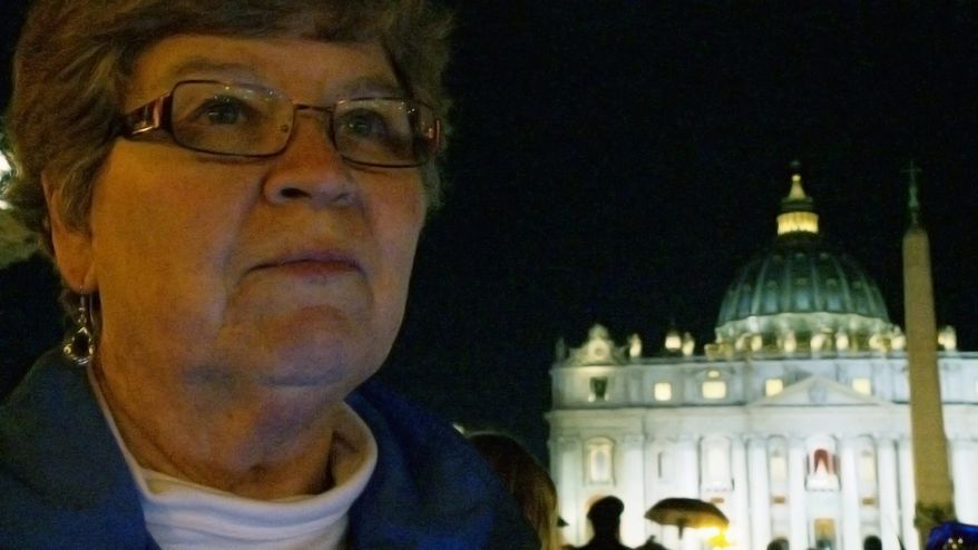 """Sister Chris Schenk is one of three nuns chronicled in """"Radical Grace,"""" a documentary on their work challenging the power structures of the Catholic Church. (www.radicalgracefilm.com)"""
