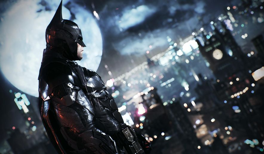 "This image provided by Warner Bros. Entertainment Inc. shows a scene from the video game, ""Batman: Arkham Knight."" (Warner Bros. Entertainment Inc. via AP)"