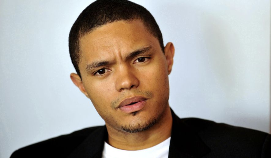 "FILE - In this Oct. 27, 2009 file photo, South African comedian Trevor Noah is photographed during an interview in Johannesburg. Noah is on a roll, performing sold-out shows in a 1,800-seat Johannesburg theater ahead of his Sept. 28 start in a job held by Jon Stewart since 1999 Comedy Central's ""The Daily Show"". (AP Photo/Bongiwe Mchunu, File) SOUTH AFRICA OUT NO SALES"