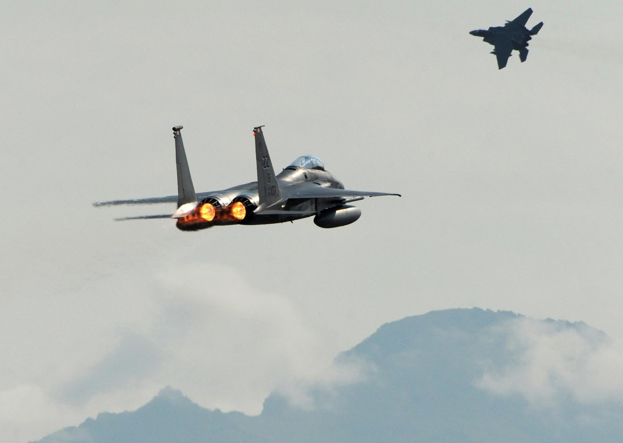 The only reason F-15s are going to Syria is to shoot down Russian jets