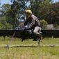 """The U.S. Army Research Laboratory has awarded contracts to Malloy Aeronautics (MA) and Survice Engineering to develop """"Star Wars""""-like hoverbike technology. (Image: Malloy Aeronautics) ** FILE **"""