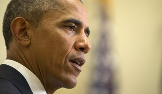 President Obama's proposal aims to narrow a loophole that the president has long said is exploited by some employers to avoid paying overtime. (Associated Press)