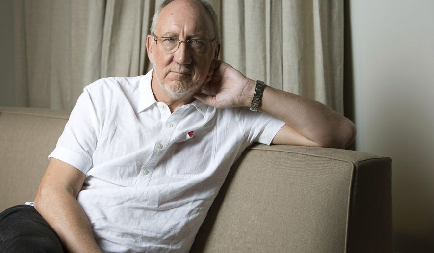 "In this May 27, 2015 photo, British musician Pete Townshend poses for a portrait in promotion of his upcoming album ""Classic Quadrophenia"", a ""symphonized"" version of The Who's landmark album ""Quadrophenia,"" in New York.   (Photo by Amy Sussman/Invision/AP)"