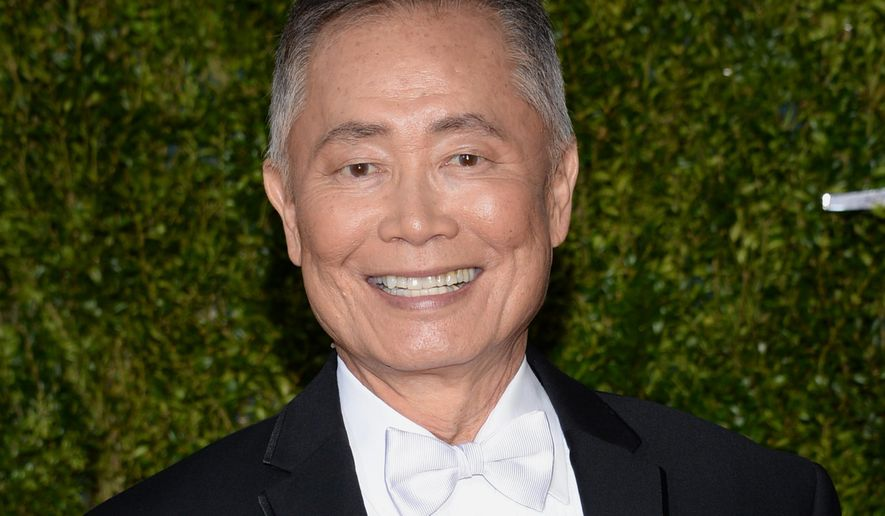 In this June 7, 2015, file photo, George Takei arrives at the 69th annual Tony Awards in New York. (Photo by Evan Agostini/Invision/AP, File)