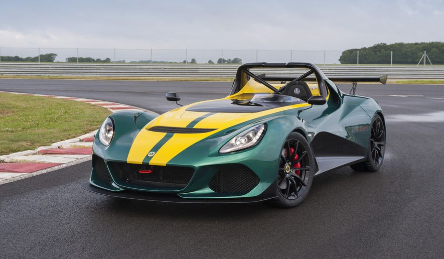 Only 311 new Lotus 3-Elevens wlll be made in 2016 (Lotus Media Site).