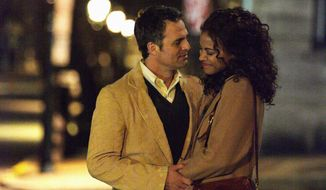 "Mark Ruffalo and Zoe Saldana star as Cam and Maggie Stuart in ""Infinitely Polar Bear,"" a film directed by Maya Forbes, who based the story on her own family's struggles with mental illness. Cam plays a Bostonian with bipolar disorder. (Associated Press)"