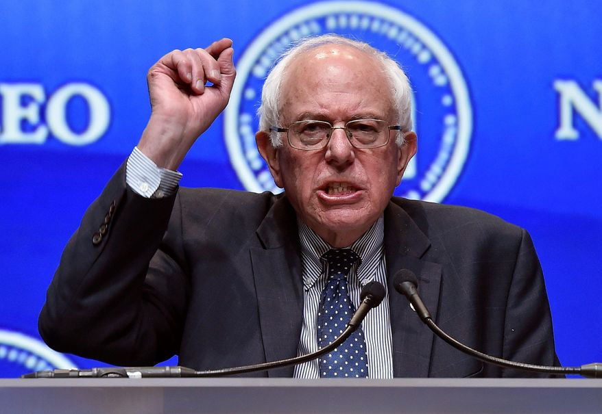 Sen. Bernard Sanders, Vermont independent, is surging ahead in early-polling states New Hampshire and Iowa, gaining on front-runner Hillary Rodham Clinton. (Associated Press)