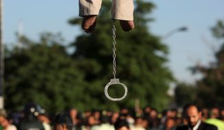 Iran executed at least 289 people in 2014, according to Amnesty International, making the Islamic republic the world's second most prolific practitioner of capital punishment. Women and children in Iran also struggle under harsh, discriminatory laws despite numerous calls for reform from human rights groups and the international community. (Associated Press)