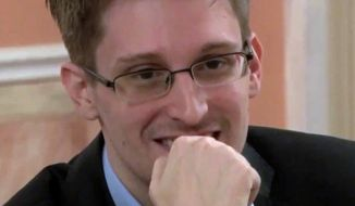 The Middle East Media Research Institute (MEMRI), which tracks Islamic extremists' social media, has quoted some Islamic State fighters as praising Edward Snowden, the self-proclaimed whistleblower who released volumes of documents on how the U.S. tracks and listens to terrorists. (Associated Press)