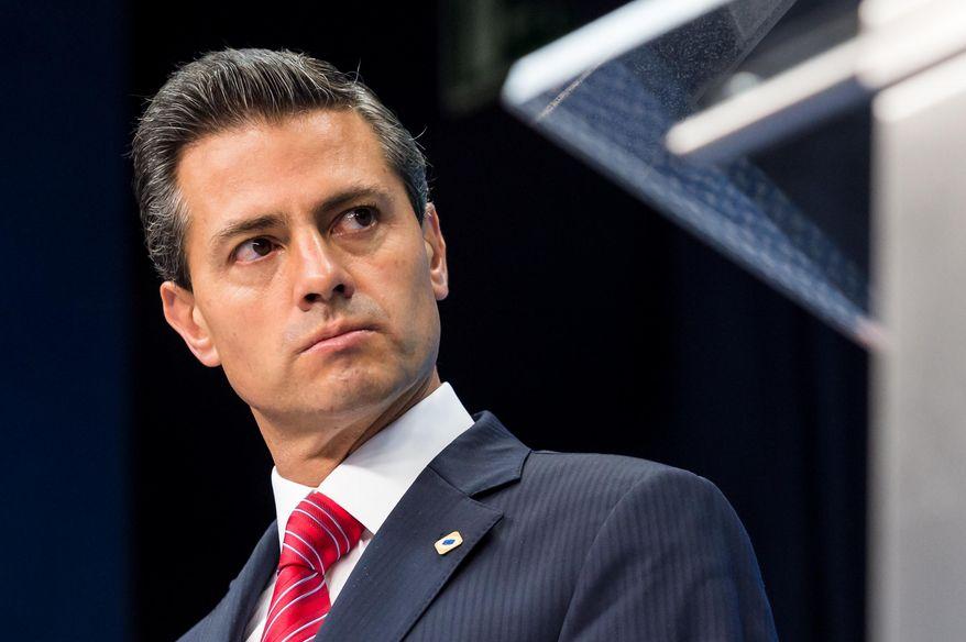 Mexican President Enrique Pena Nieto (Associated Press/File)