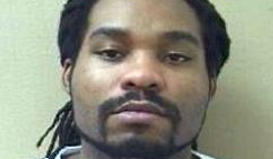 In a photo provided by the North Carolina Department of Public Safety, Kristopher McNeil appears in a photo, date not known. McNeil, a convicted murderer, escaped from Brown Creek Correctional Institution on Saturday, June 27, 2015. Kendra Lynette Miller, a kitchen worker, is being charged with helping McNeil escape. (North Carolina Department of Public Safety via AP)