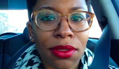 """Zandria Robinson, an assistant professor of sociology at the University of Memphis, is under fire for a number of tweets in which she blasts """"whiteness"""" and even equates it with terrorism. (Twitter/@zfelice)"""