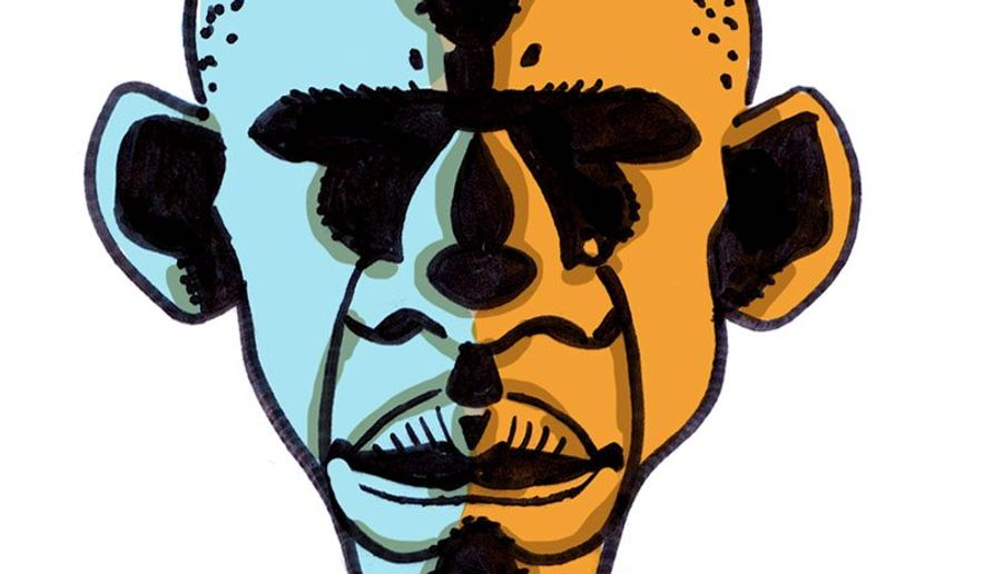 Illustration on Obama's work to increase dependence on government by Alexander Hunter/The Washington Times