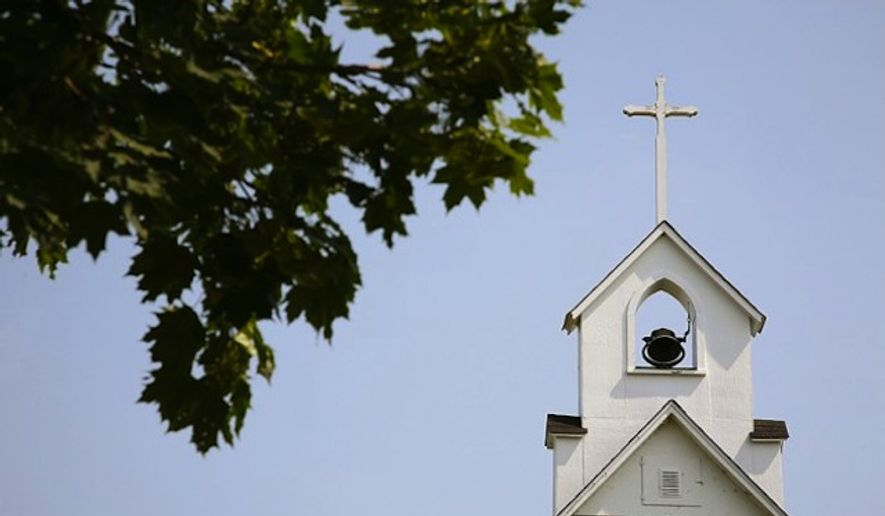 Church and steeple (Associated Press file image) ** FILE **