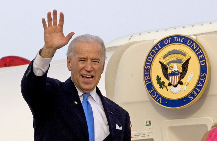 Vice President Joseph R. Biden had been noncommittal about his plans for next year, though he never ruled out another run for president. (Associated Press)