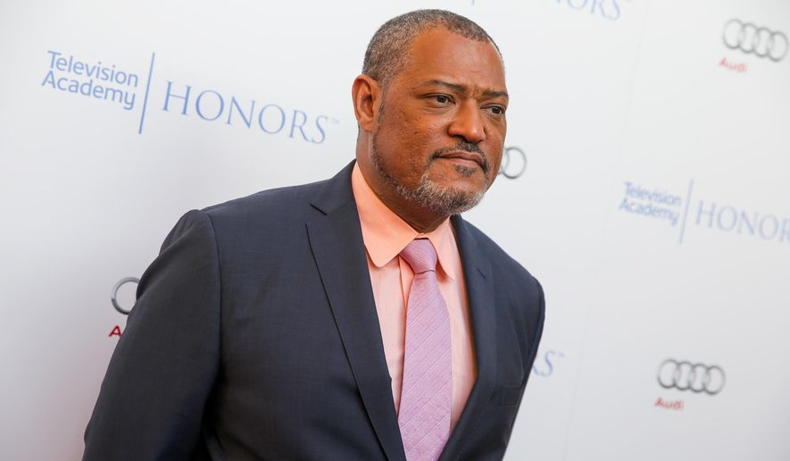 "Laurence Fishburne arrives at the 2015 Television Academy Honors at The Montage Hotel in Beverly Hills, Calif., in this May 27, 2015 photo. Mr. Fishburne will star as Alex Haley in the  A&E Network's scripted event series, ""Roots."" (Photo by Rich FuryInvision/AP, File)"