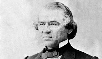 President Andrew Johnson looked to the Fourth of July as a launching point to reunify not just the states, but also the hearts and minds of their inhabitants. (Associated Press)