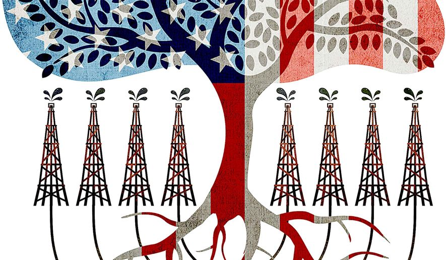 Energy Independence Illustration by Greg Groesch/The Washington Times