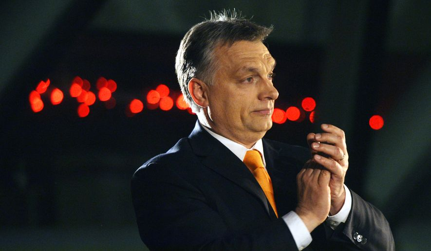 Prime Minister Viktor Orban has generated headlines with his call for a 13-foot-high fence along Hungary's 110-mile border with Serbia to keep out immigrants seeking to travel from southern Europe to Germany and other wealthy countries. (Associated Press)