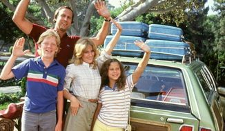"""Chevy Chase stars in 1983's """"National Lampoon's Vacation,"""" a comedy in which all sorts of things went haywire. (Image: Warner Bros.) ** FILE **"""