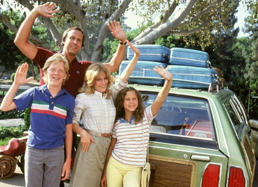 "Chevy Chase stars in 1983's ""National Lampoon's Vacation,"" a comedy in which all sorts of things went haywire. (Image: Warner Bros.) ** FILE **"