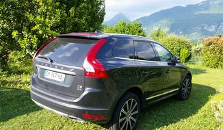 The 2015 Volvo XC60 goes the extra mile. (Photo by Rita Cook) **FILE**
