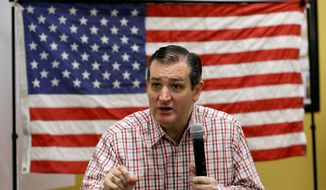 Sen. Ted Cruz of Texas (Associated Press) **FILE**