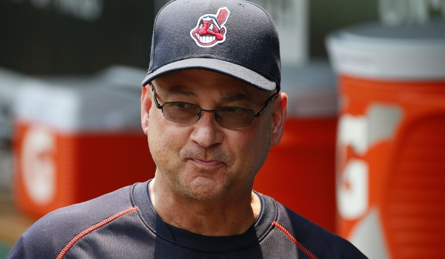 Cleveland Indians manager Terry Francona walks in the dugout before a baseball game against the Pittsburgh Pirates in Pittsburgh Sunday, July 5, 2015. The Pirates won 5-3. (AP Photo/Gene J. Puskar)