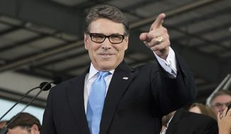 Former Texas Gov. Rick Perry. ** FILE **