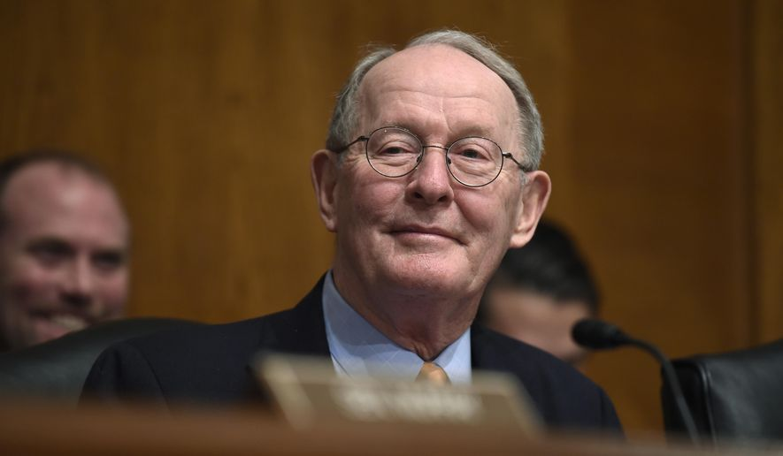 Senate Health, Education, Labor and Pensions Committee Chairman Sen. Lamar Alexander, R-Tenn., listens to testimony on Capitol Hill in Washington in this Jan. 21, 2015, file photo. (AP Photo/Susan Walsh, File)