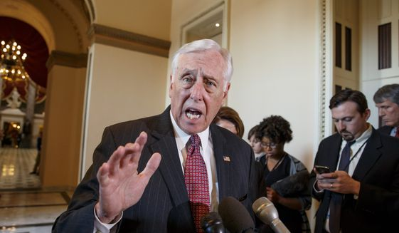 Rep. Steny H. Hoyer, Maryland Democrat (Associated Press) **FILE**