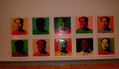 Andy Warhol's 1960s/'70s silkscreens of Chairman Mao are among the trove of art at the Columbia Museum of Art.