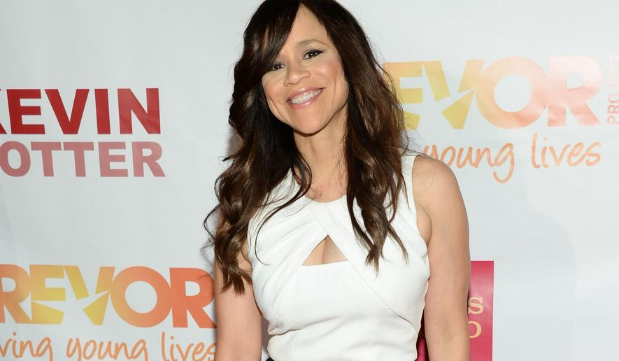 "FILE - In this June 15, 2015 file photo, actress Rosie Perez attends TrevorLIVE New York to benefit The Trevor Project at the Marriott Marquis, in New York. There's more host upheaval ahead for ABC's ""The View,"" with Perez leaving the daytime talk show. In a memo to ""View"" staffers Tuesday, July 7, 2015, executive producer Bill Wolff said that Perez has decided to focus on acting. (Photo by Evan Agostini/Invision/AP, File)"