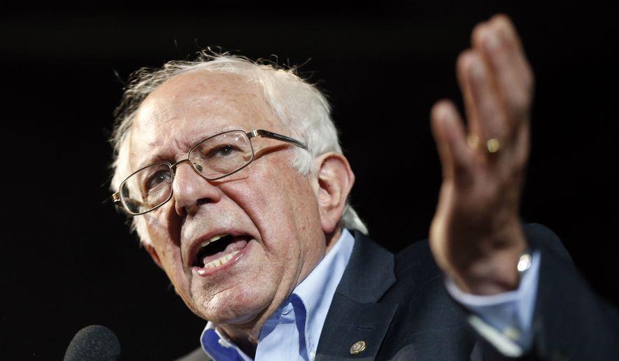 Sen. Bernard Sanders, Vermont Independent. (Associated Press)