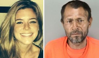 Kate Steinle was fatally shot on July 1, 2015, allegedly by illegal immigrant Juan Francisco Lopez-Sanchez. The U.S. House on Thursday passed Kate's Law, a federal provision aimed at penalizing illegal immigrants who return to the United States after being deported. (Associated Press)