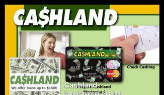 Cashland's Facebook page