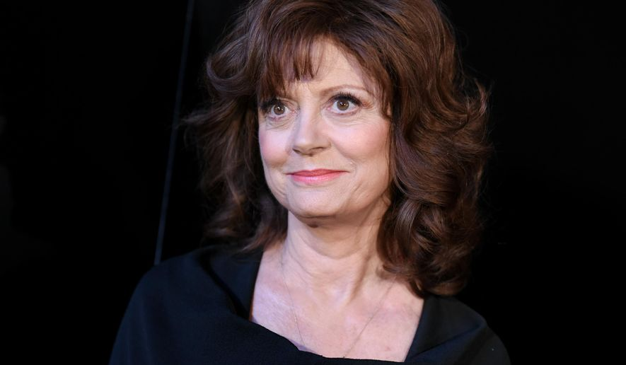 "In this May 11, 2015, file photo, Susan Sarandon arrives at the world premiere of ""The Secret Life of Marilyn Monroe"" held at The Theatre at Ace Hotel, in Los Angeles. (Photo by Richard Shotwell/Invision/AP, File)"