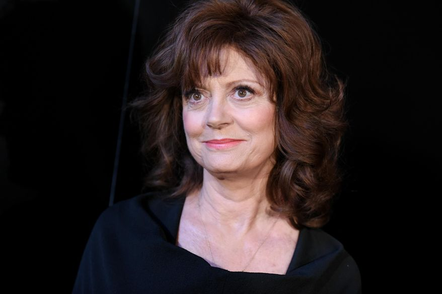 """In this May 11, 2015, file photo, Susan Sarandon arrives at the world premiere of """"The Secret Life of Marilyn Monroe"""" held at The Theatre at Ace Hotel, in Los Angeles. (Photo by Richard Shotwell/Invision/AP, File)"""