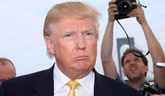 Donald Trump attends the Hank's Yanks 1st Annual Golf Classic at Trump Golf Links in New York on July 6, 2015. (Greg Allen/Invision/Associated Press)