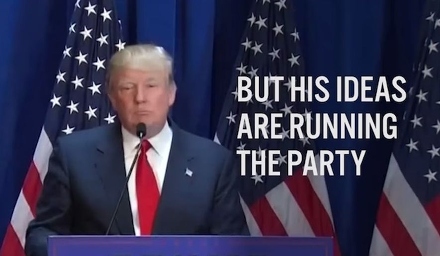 "The Democratic National Committee released a new video Thursday that mocks the GOP as the ""Retrumplican Party"" and ties the entire Republican presidential field to comments made by Donald Trump. (YouTube/DemRapidResponse)"